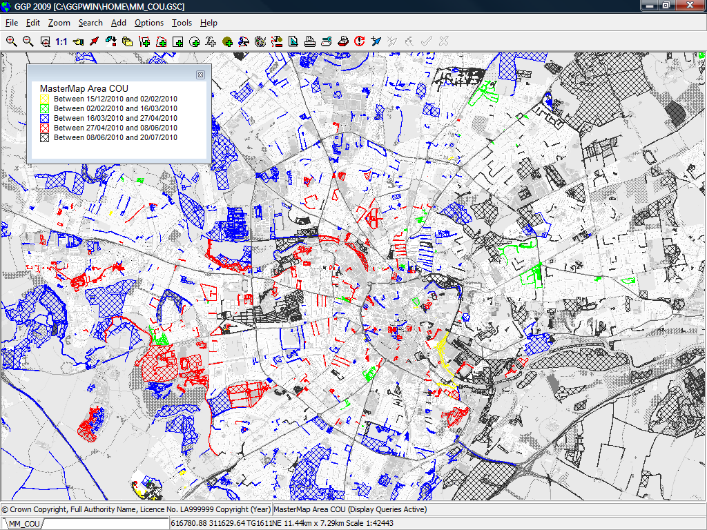 MasterMap COU Overview