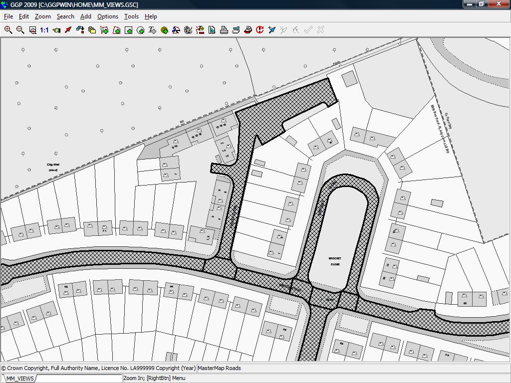 Road segment detail
