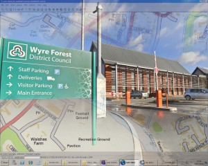 GGP Wyre Forest GIS